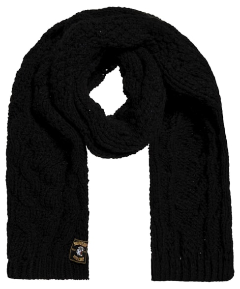 G90005NR   Superdry Chic Regal Cable Scarf