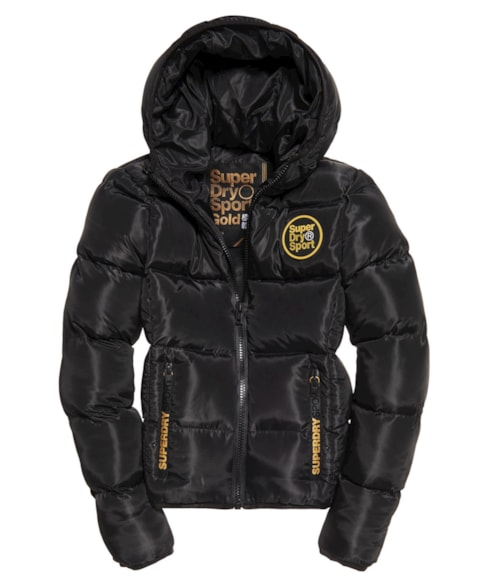 GS3001AR | Superdry Gym Tech Gold Puffa Jacket