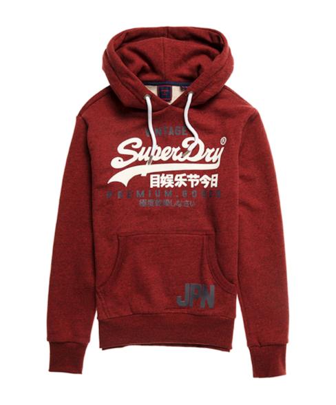 M2010428A   Vintage Logo Duo hoodie