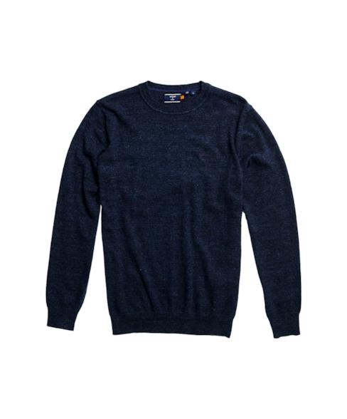 M6110082A | Orange Label trui met ronde hals