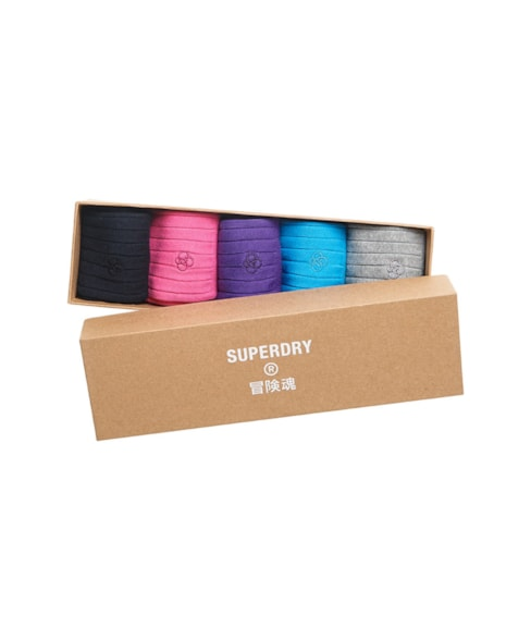 M3110115A | Superdry Casual Rib Sock Gift Set