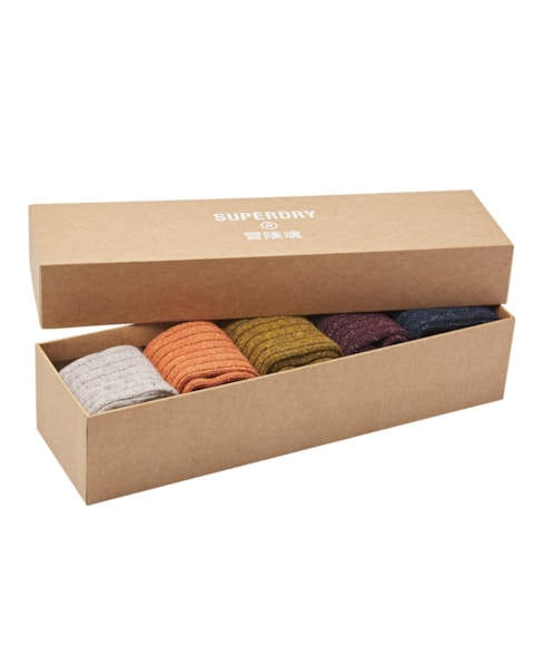 M3110116A | Superdry Lowell Neps Sock Gift Set