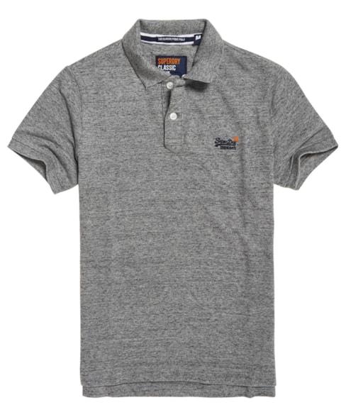 M11005NS | Superdry Organic Cotton Classic Pique Polo Shirt