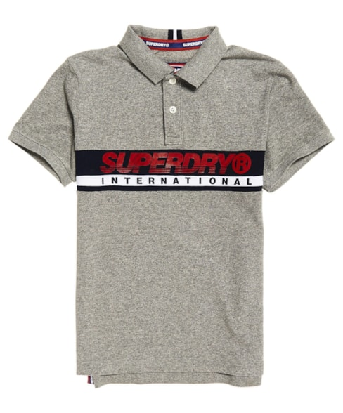 M11011RT | Superdry International Chest Band Polo Shirt