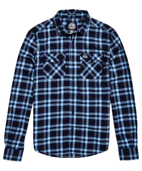 M40008QQF2 | Superdry Washbasket Long Sleeve Shirt