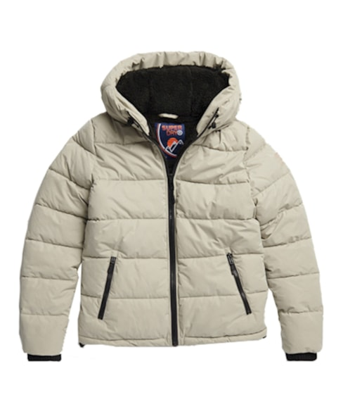 W5000212A | Superdry Akan Microfibre Padded Jacket